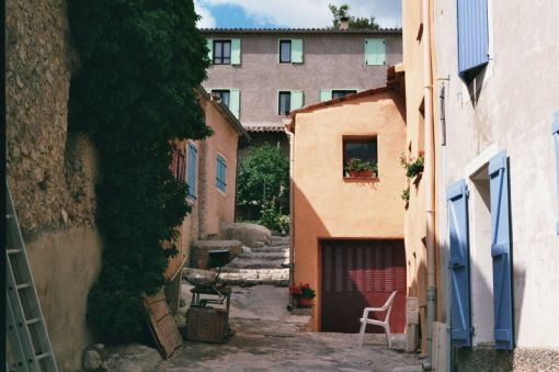 Analog photography, a small town in France, 35mm // The Dance Part