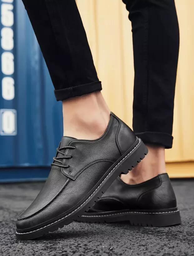 Men's #black leather derby #DressShoes