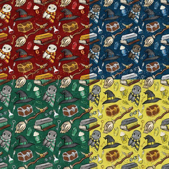 Brushed Cotton Harry Potter Fabric Material 10 Designs Flannel