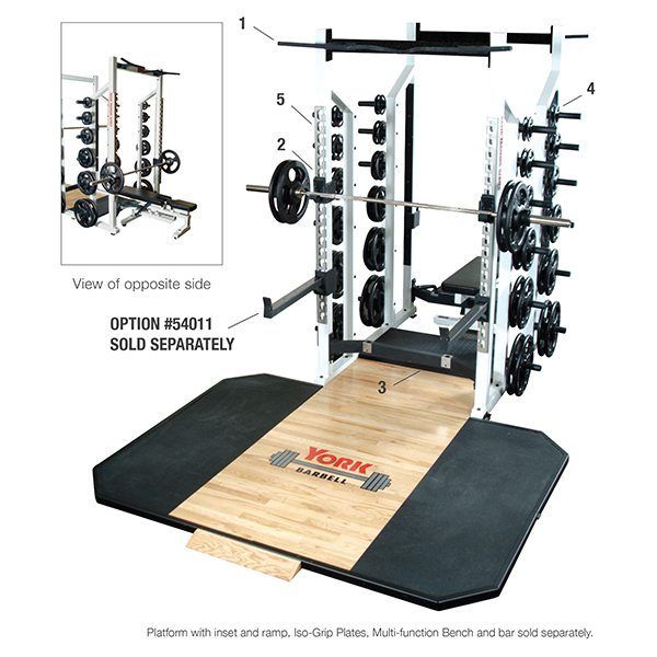 Gtech Fitness - York Barbell STS Commercial Double Sided Half Rack, $2,995.00 (http://www.gtechfitness.com/york-barbell-sts-commercial-double-sided-half-rack/)