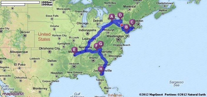 Driving Directions from Buffalo New York 14203 to Macclenny – Mapquest Driving Directions