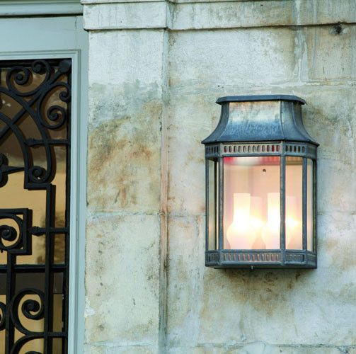Superb Classic French Lantern in Zinc