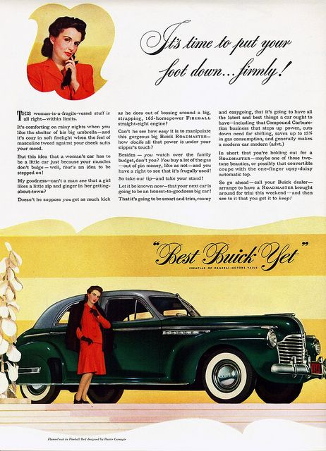 "1941 Buick Roadmaster Sedan ""Foot Down"""