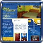 Organización:   Karol Muebles;   Ubicación:   Maracay;   Enlace:   http://www.karolmuebles.com;   Segmento:  Mobiliario;   Año:   2007