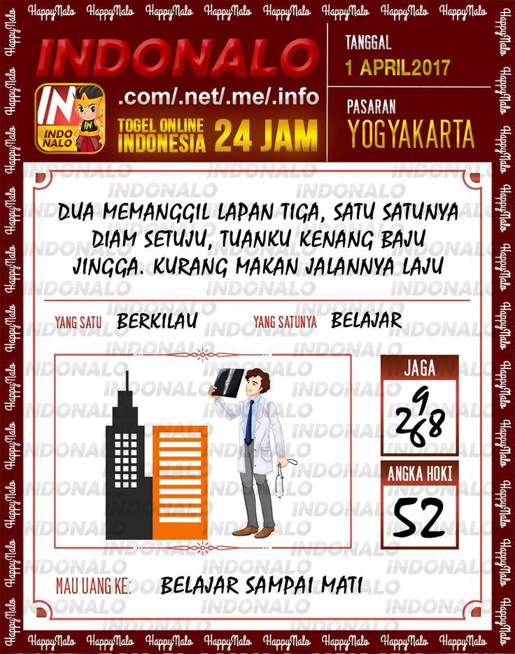 Angka JP 4D Togel Wap Online Indonalo Yogyakarta 1 April 2017