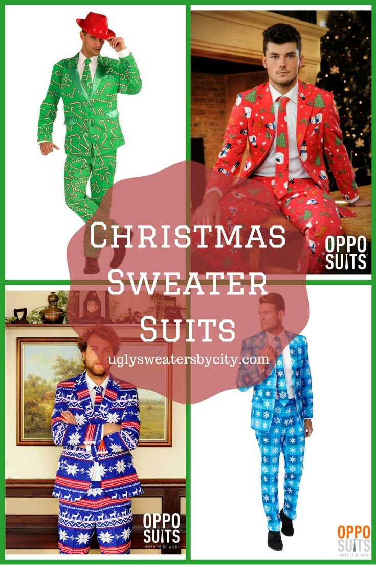 Step Up in a Christmas Sweater Suit