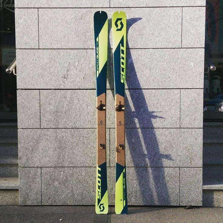 Scott Speedguide with the ATK Revolution. 1239g per Ski. All said. #scottskis #atkbindings #atkrevolution #skimo