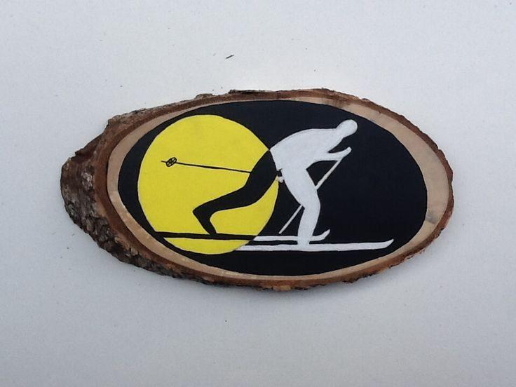 Acrylic on wood. Emi Ligabue