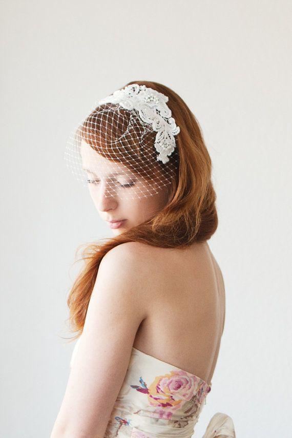 Sweetheart Bridal Birdcage veil