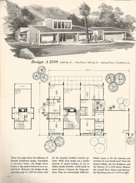 Винтажные дома