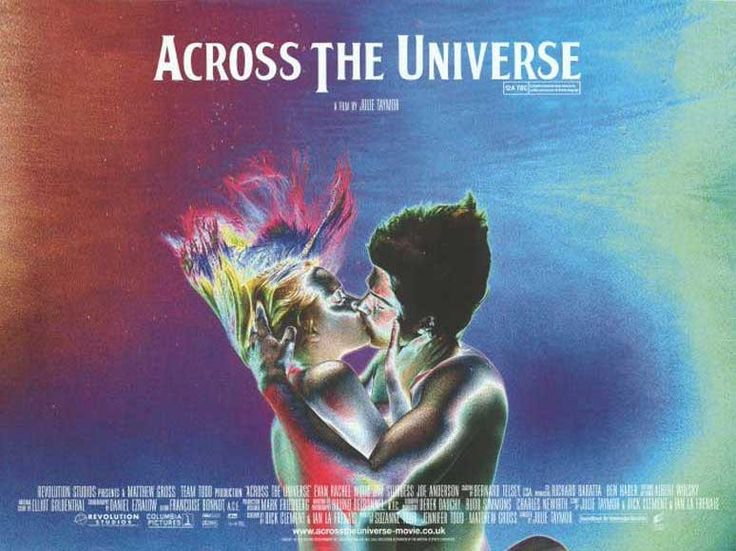 across the universe 30x40 movie poster 2007 evan