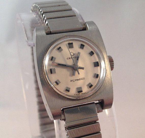 Women's Watch  1968 Certina Argonaut 220  by StonebrookVintage