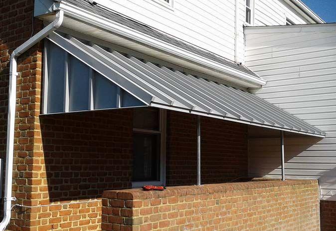 Architectural Stairway Awning Baltimore Metal Awning Metal Awnings For Windows Aluminum Window Awnings