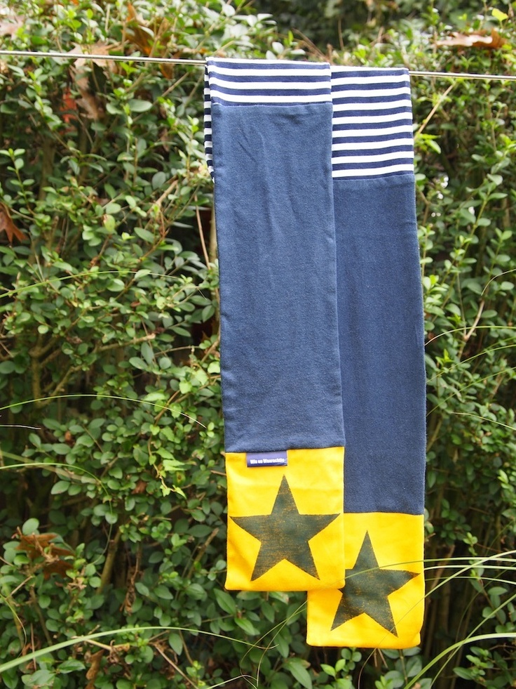 Stoere sjaal! flock printable ster star