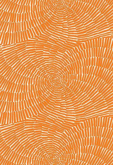 174241 sonriza print orange by schumacher orange crush for Pool design pattern java