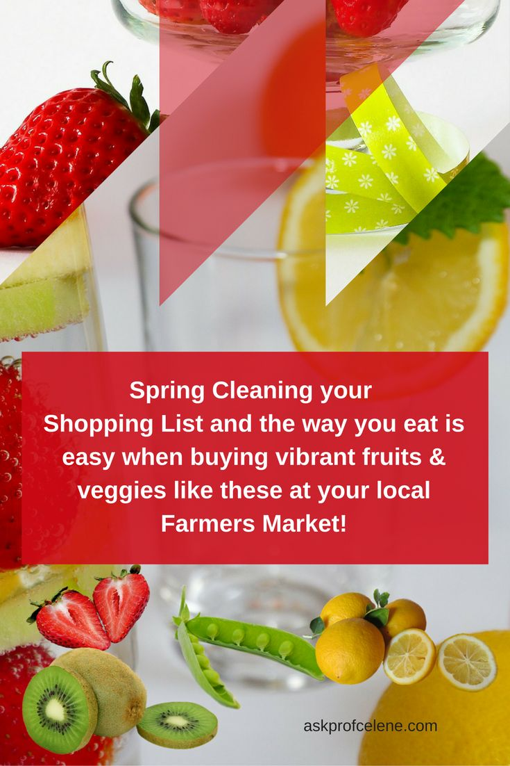Did You Know:Spring Cleaning the way we do our shopping can lead to weight loss?!?