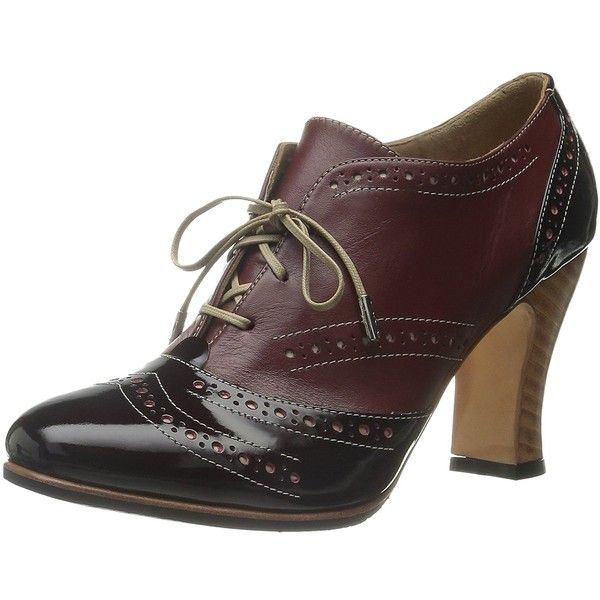 John Fluevog Women's Heal Oxford ($224) ❤ liked on Polyvore featuring shoes, oxfords, oxford shoes, wide shoes, john fluevog and john fluevog shoes