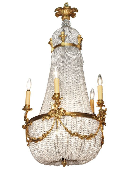 Best 25 french chandelier ideas on pinterest vintage chandelier antique french empire chandelier crystal and bronze mozeypictures Images