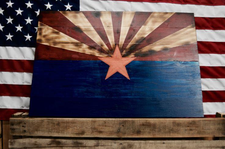 Rustic Arizona Flag #country #woodenflag #rustic #rusticwall #flag #americanflag #flagwood #flagrustic #woodenamerican #woodenflag #americana #americandecor #flagdecoration #wallart #police #sheriff #thinbluelinefamily #thinblueline #firefighter #thinredline #pinterest #instalike #instagood #americanhenry #arizona #williamsaz #america #americanflag #americanmade #americanmuscle #american #cabelas