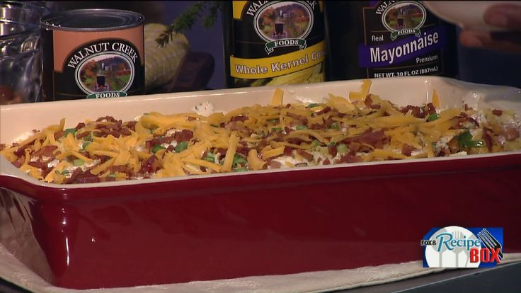 CLEVELAND, Oh -- Leave it to country chef Lee Ann Miller to create a chili salad that is perfect for chilly winter weather! Incorporating cornbread and lots of veggies, Lee Ann gave Fox 8's Wayne Dawson a quick cooking lesson as she taught him how to put this layered dish together.  Lee Ann is a friend of Walnut Creek Cheese and you can learn more about the Amish Country store by clicking here.
