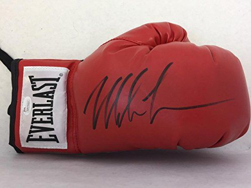 Mike Tyson Authentic Signed Everlast Boxing Glove (right) Coa Free S&h! - JSA Certified - Autographed Boxing Gloves