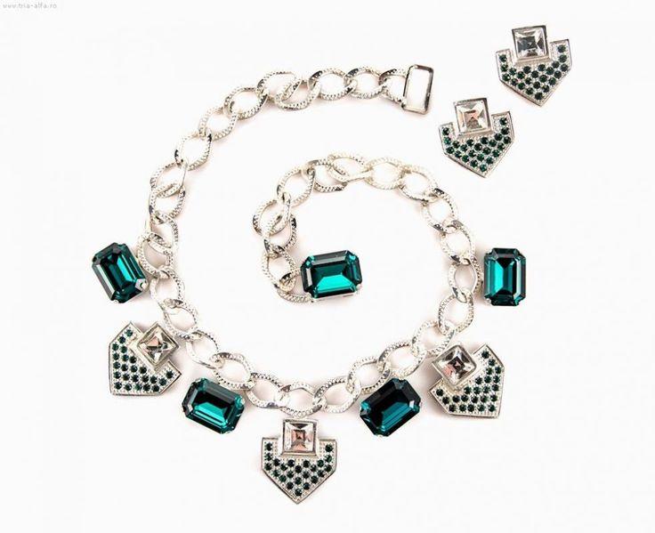 Tria Alfa jewelry sets with Swarovski elements 1