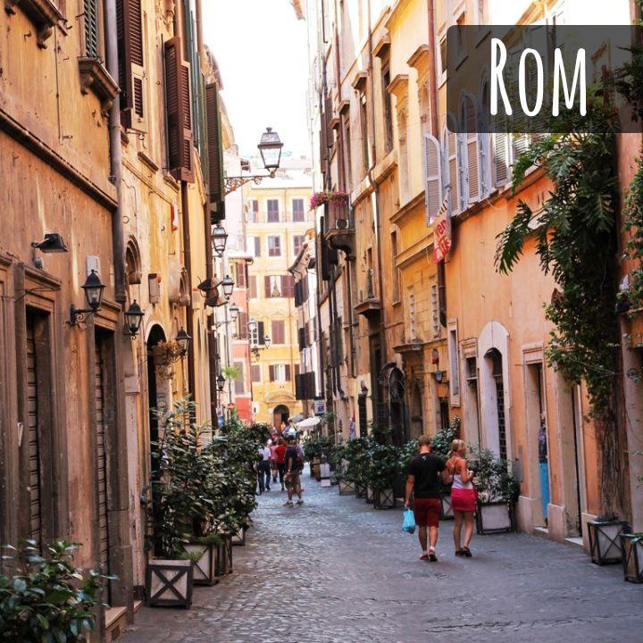 Spaziergänge zu Roms Sehenswürdigkeiten
