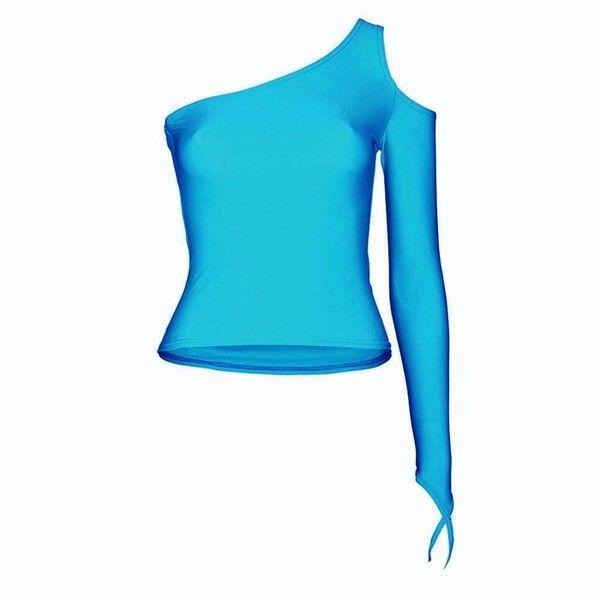 Tabitha Matt Lycra Dance Top from Starlite's exclusive Taboo dancewear... ($11) ❤ liked on Polyvore