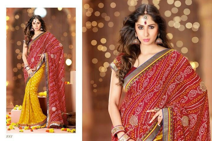 Simply gorgeous bhandani for any occasion on sale now