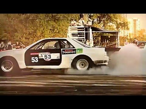 """Drag racing and drifting video with """"in your face"""" electronic rock production music. Please inquire about licensing, editing or custom composition."""