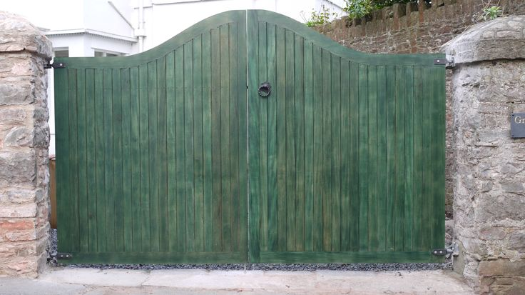 Idigbo Gates Green | The Wooden Workshop | Oakford, Devon