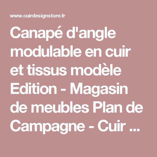 28 best Salons images on Pinterest - Magasin De Meubles Plan De Campagne