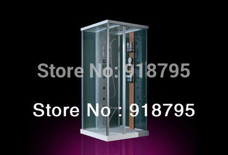 Square luxury steam shower enclosures bathroom steam shower cabins jetted massage walking-in sauna room  RS8036