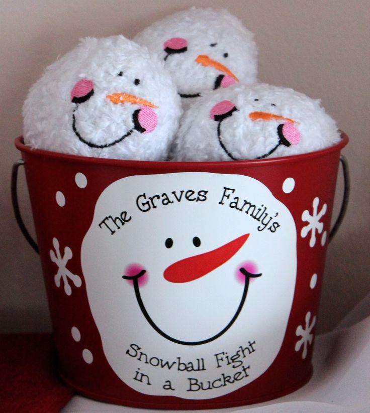 Indoor Snowball Fight - best indoor winter game!