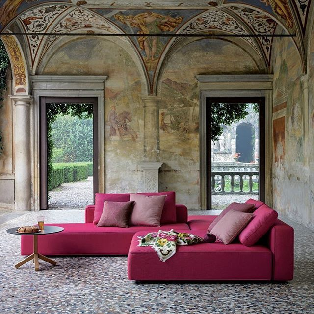 The Dandy #Sofa Seating System By #RodolfoDordoni For #Roda Brings The  Comfort And