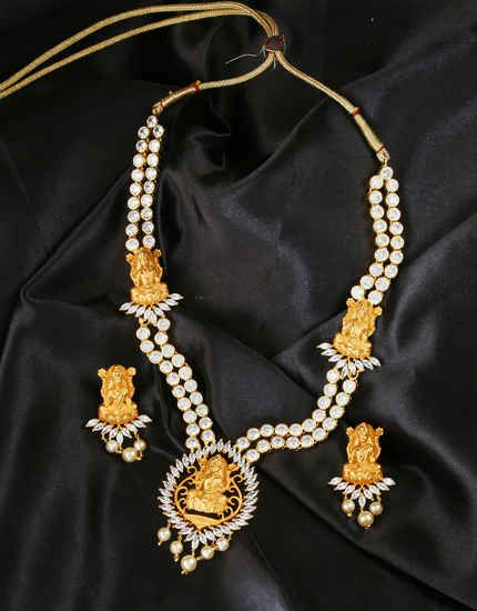 76a5bf0c3 Pin by Anuradha Art Jewellery on Traditional Long Necklace in 2019 ...