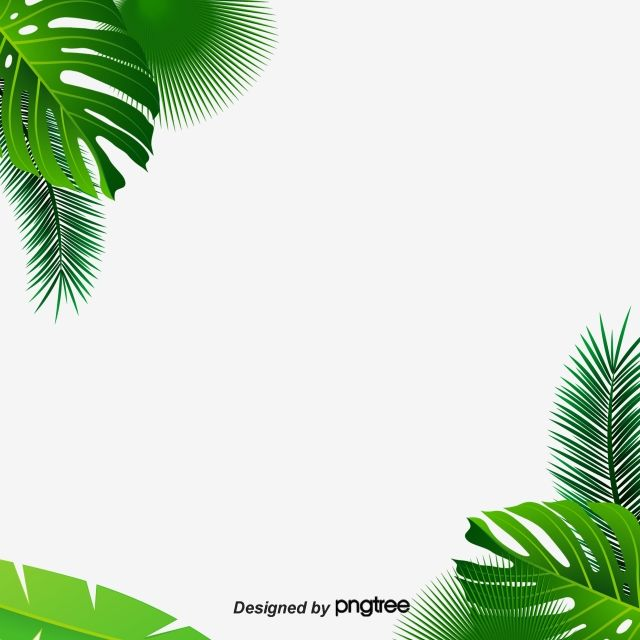 Leaf Background Decoration Material Green Leaves Banana Leaves Green Png Transparent Clipart Image And Psd File For Free Download Leaf Background Background Decoration Paint Background