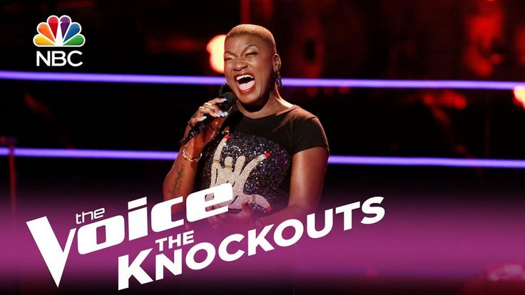 "The Voice 2017 Knockout - Janice Freeman: ""I'm Goin' Down"""