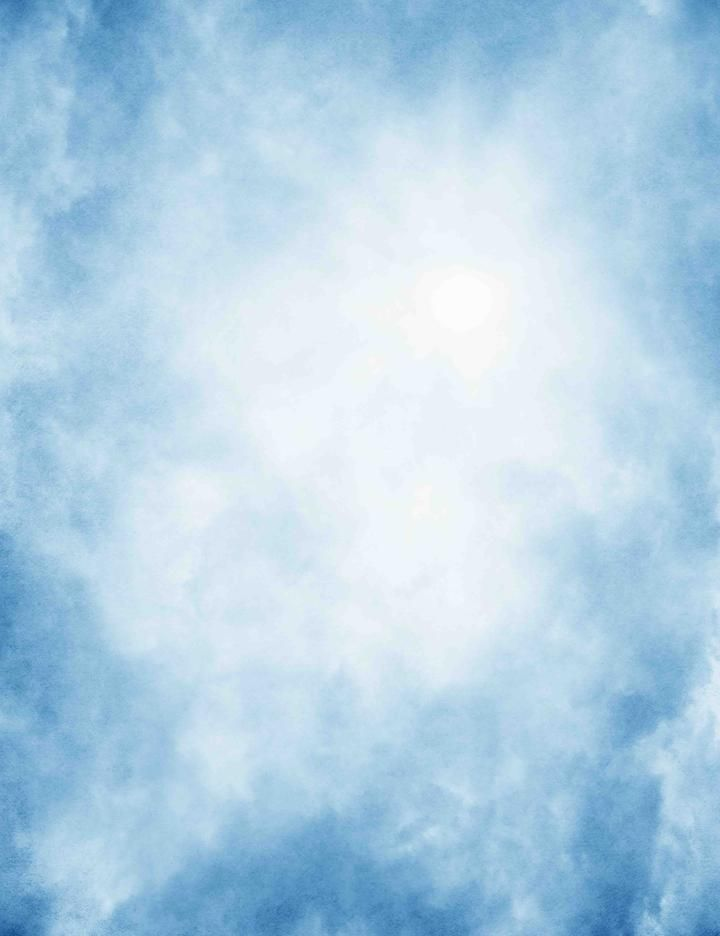 Old Master Sky Blue With Sun Abstract Background Backdrop In