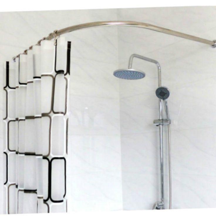 Bathroom Curtain Pole: The 25+ Best Curved Curtain Pole Ideas On Pinterest
