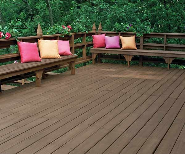 Exterior wood staining made simple semi transparent for Exterior wood stain flood