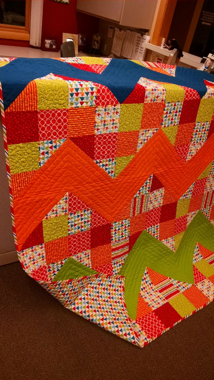 Colorful Beach Quilt!