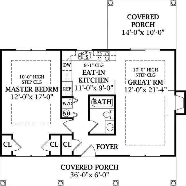 105 best 900 sq ft floor plans images on pinterest for 900 sq ft apartment floor plan