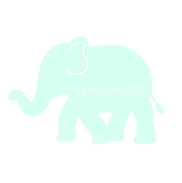 Elephant Decal Vinyl Sticker Laptop Yeti Camelbak Swell Bottle Car Preppy Computer Mac Cute Baby Bottle Sippy Tumbler Teen Kids Car Window + by MonogramSTL on Etsy