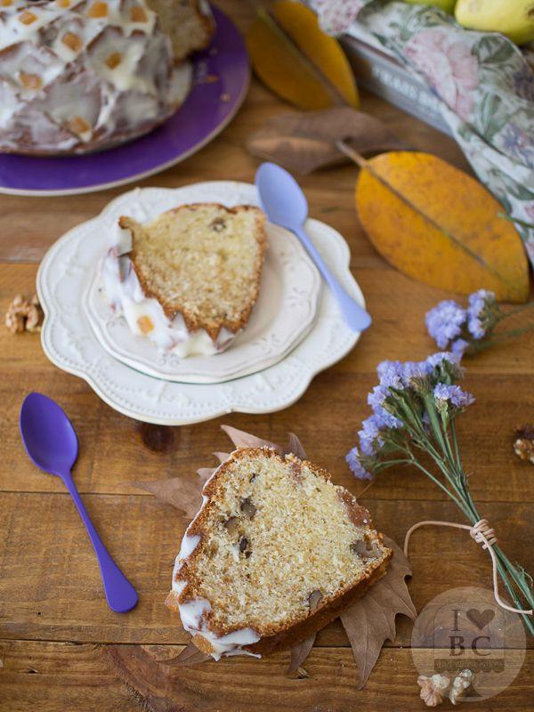 Bundt cake de queso, membrillo y nueces | I Love Bundt Cakes