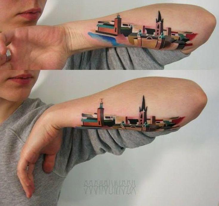 Stockholm Tattoo By Sasha Unisex