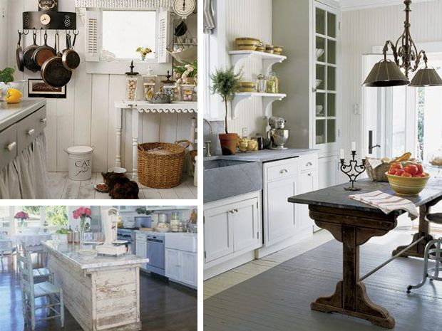 Oltre 25 fantastiche idee su cucina romantica su pinterest - Colori pareti cucina shabby chic ...