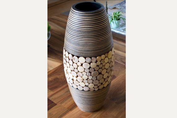 Vase au sol design
