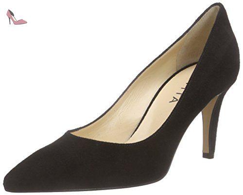 Evita Shoes  Pump, Escarpins femme - Noir - Schwarz (schwarz 10), 42 EU - Chaussures evita shoes (*Partner-Link)