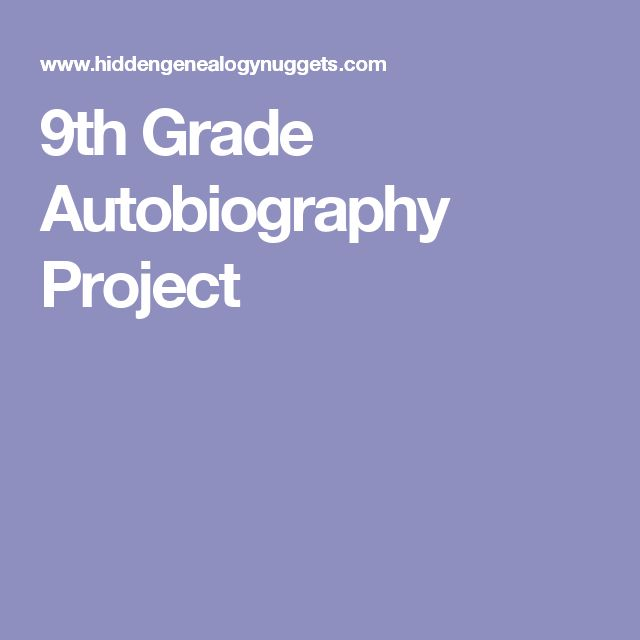 Best 25 autobiography project ideas on pinterest self portrait 9th grade autobiography project pronofoot35fo Choice Image